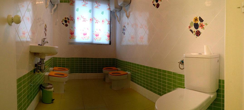 Baños Adaptados Para Ninos:Cuarto de baño adaptado a niños y discapacitados, que facilita al